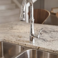 Show Home Granite and Kohler Faucets