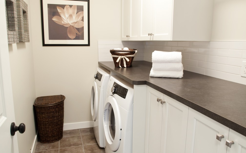 Laundry Room Show Home