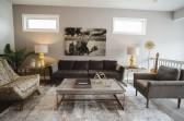Open floor concept show home