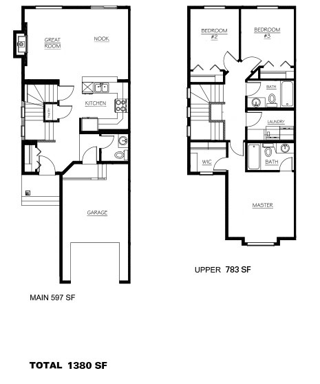 Duplex Homes Creekwood Chappelle Thomsen Built