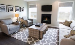 Show Home Living Room South West Edmonton