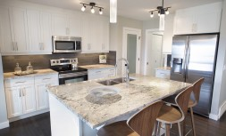 Custom Kitchen Show Home