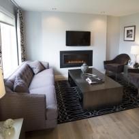 Living Room Show Home The Braemount, South West Edmonton
