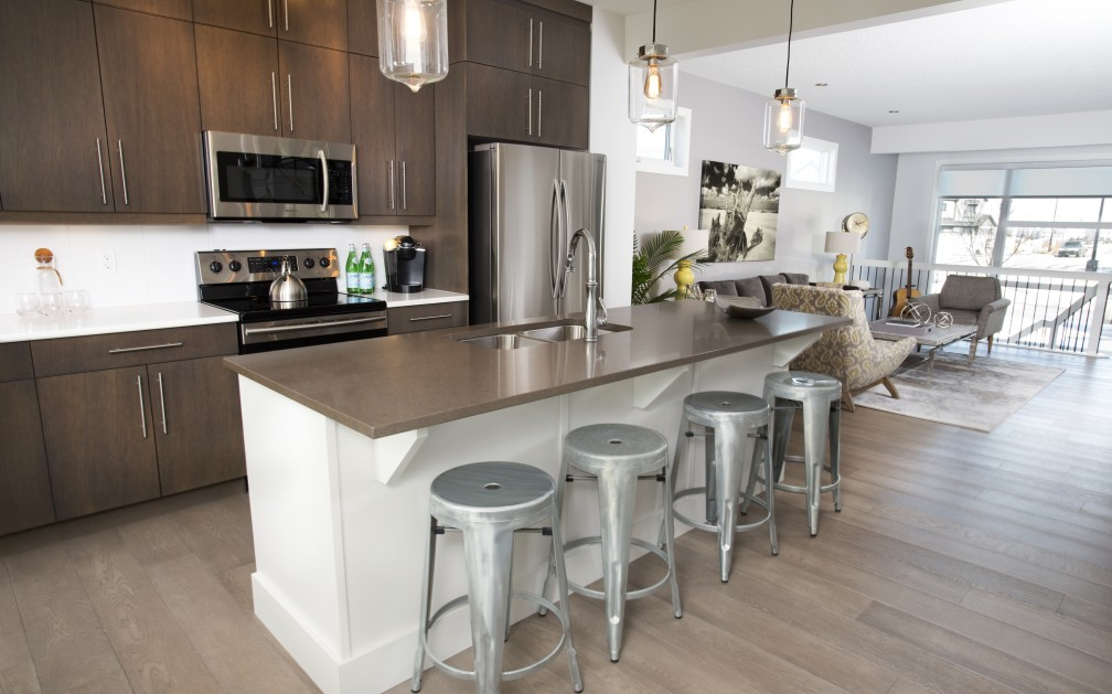 Westcoast show home Kitchen Edmonton
