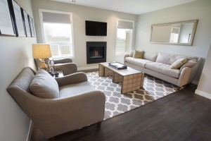The Westbury Show Home Living Room - Lot's of Great Space