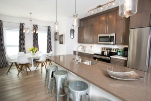 The Westcoast  Show Home Kitchen and Nook, South West Edmonton And Fort Saskatchewan