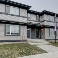 The Evoke Duplex, Fort Saskatchewan, Southfort Ridge, Exterior View
