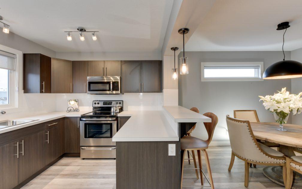 The Evoke Duplex, Fort Saskatchewan, Southfort Ridge, Kitchen 2