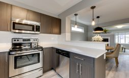 The Evoke Duplex, Fort Saskatchewan, Southfort Ridge, Kitchen 4