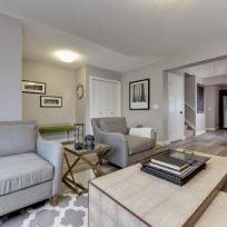 The Evoke Duplex, Fort Saskatchewan, Southfort Ridge, Living Room 2