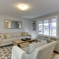 The Evoke Duplex, Fort Saskatchewan, Southfort Ridge, Living Room 1