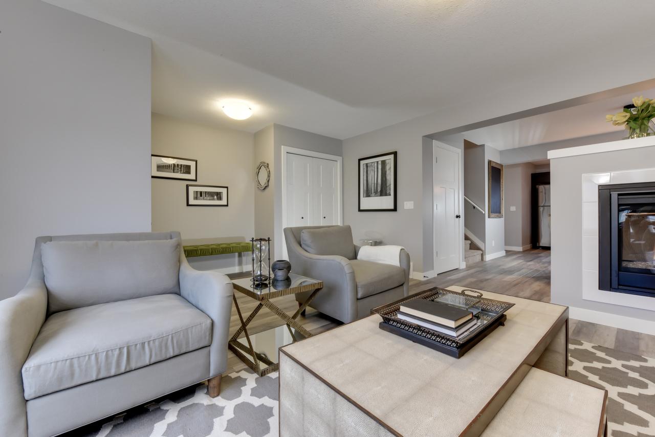 The Evoke Duplex Fort Saskatchewan Southfort Ridge Living Room 6