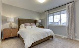 The Evoke Duplex, Fort Saskatchewan, Southfort Ridge, Master bedroom 1
