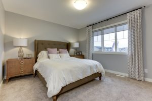 The Evoke Duplex, Fort Saskatchewan, Southfort Ridge, Master bedroom 1
