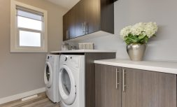 The Evoke Duplex, Fort Saskatchewan, Southfort Ridge, Second Floor Laundry